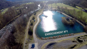 enrochement-drone-video-pyrenees-lac